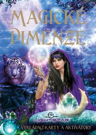 Magické dimenze-karty:Vykládací karty a aktivátory - kniha + 44 karet - Lightstar | Replicamaglie.com