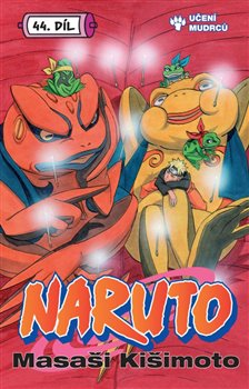Obálka titulu Naruto 44: Senseiův dědic