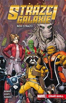Obálka titulu Strážci galaxie - Noví Strážci 1: Císař Quill