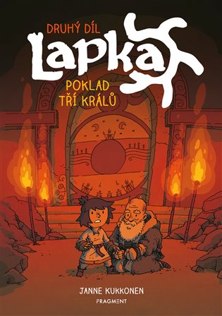 Lapka - Poklad tří králů 2. díl - Janne Kukkonen | Booksquad.ink