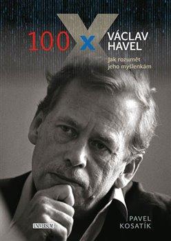 Obálka titulu 100 x Václav Havel