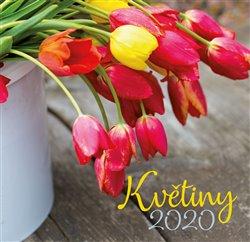 Obálka titulu Nástěnný kalendář KVĚTINY 2020