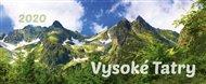 Stolní kalendář Vysoké Tatry 2020