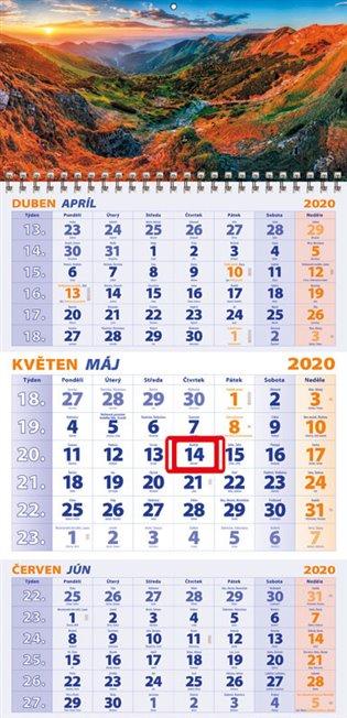 Nástěnný kalendář 3-MĚSÍČNÍ 2020 - -   Replicamaglie.com