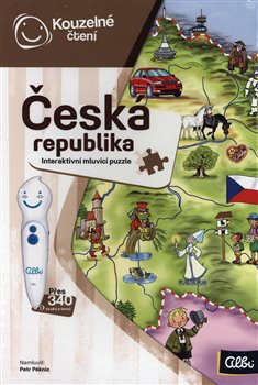 Kouzelné čtení - Česká republika puzzle