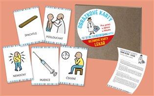 Obrázkové režimové karty - U lékaře - - | Booksquad.ink