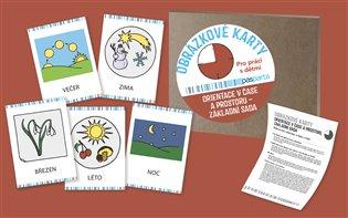 Orientace v čase a prostoru I, základní sada:Obrázkové karty vhodné pro práci s dětmi doma, ve školce i ve škole - -   Booksquad.ink