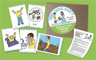 Orientace v čase a prostoru II, sada aktivity:Obrázkové karty vhodné pro práci s dětmi doma, ve školce i ve škole - - | Booksquad.ink