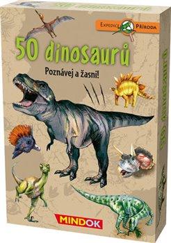 Obálka titulu Expedice příroda: 50 dinosaurů