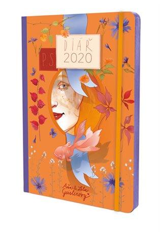 P.S. - diář 2020 - Aňa Geislerová,   Booksquad.ink
