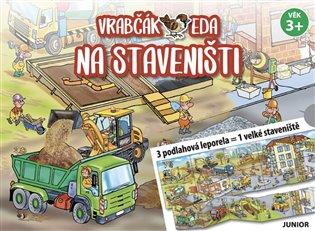 Vrabčák Eda na staveništi - 3 podlahová leporela = 1 velké staveniště - Iva Haberlová | Booksquad.ink
