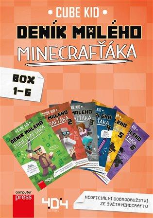Deník malého Minecrafťáka BOX 1-6 - Cube Kid | Replicamaglie.com