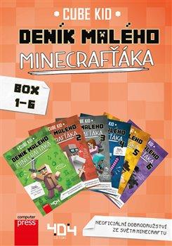 Obálka titulu Deník malého Minecrafťáka BOX 1-6