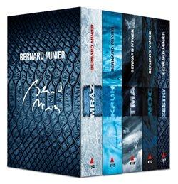 Obálka titulu 5 x Bernard Minier - box Mráz, Kruh, Tma, Noc, Sestry