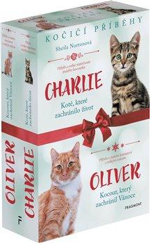 Obálka titulu Kočičí příběhy: Oliver + Charlie – box
