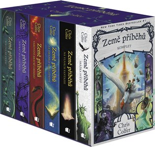 Země příběhů – komplet 1.-6. díl – box - Chris Colfer | Replicamaglie.com