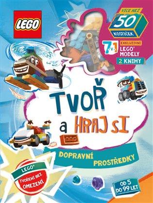 Lego Iconic. Tvoř a hraj si: Dopravní prostředky - - | Booksquad.ink