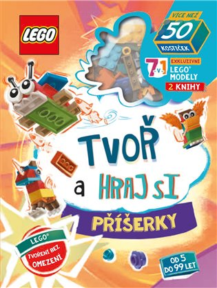 Lego Iconic. Tvoř a hraj si: Příšerky - - | Booksquad.ink