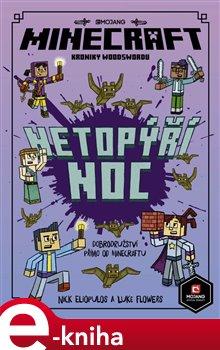 Obálka titulu Minecraft Kroniky Woodswordu 2 - Netopýří noc
