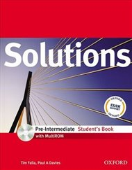 Solutions Pre-intermediate Student´s Book + CD-ROM International Edition