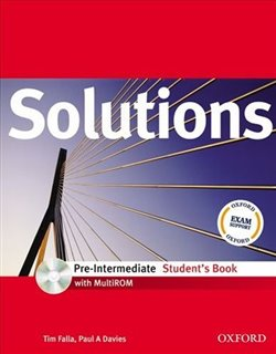 Obálka titulu Solutions Pre-intermediate Student´s Book + CD-ROM International Edition