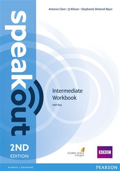 Obálka titulu Speakout 2nd Edition Intermediate Workbook with key