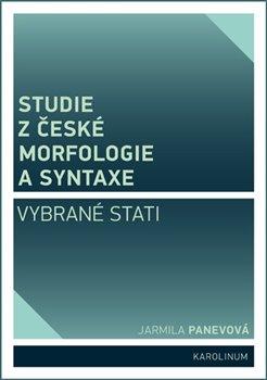 Obálka titulu Studie z české morfologie a syntaxe