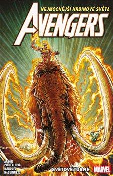 Obálka titulu Avengers 2: Světové turné