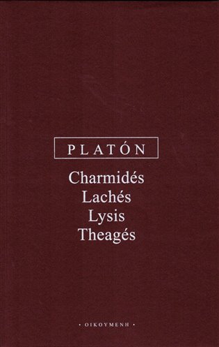 Charmidés, Lachés, Lysis, Theagés - Platón | Replicamaglie.com