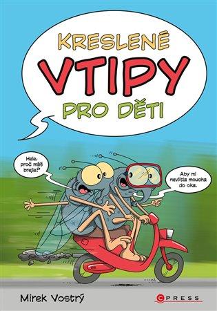 Kreslené vtipy pro děti - Mirek Vostrý   Booksquad.ink