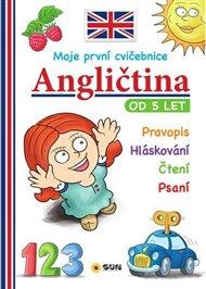 Moje první angličtina-od 5let cvičebnice