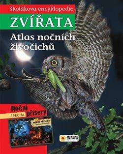 Obálka titulu Zvířata - Atlas nočních živočichů