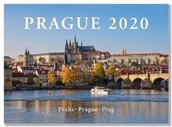 Kalendář 2020 nástěnný na šířku - Prague