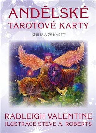 Andělské tarotové karty:Kniha a 78 karet - Radleigh Valentine | Booksquad.ink