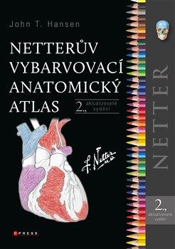 Obálka titulu Netterův vybarvovací anatomický atlas