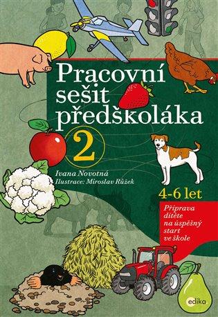 Pracovní sešit předškoláka 2:Příprava dítěte na úspěšný start ve škole - Ivana Novotná | Booksquad.ink