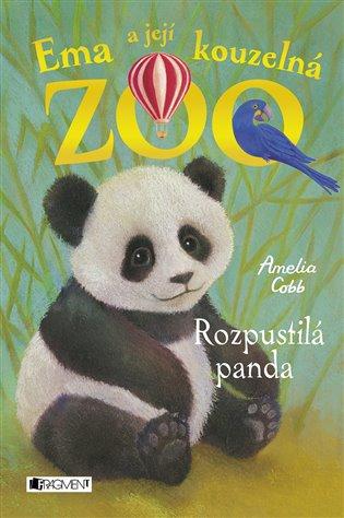 Ema a její kouzelná zoo - Rozpustilá panda - Amelia Cobb | Booksquad.ink