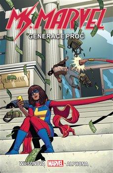 Obálka titulu Ms. Marvel 2: Generace Proč