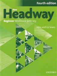 New Headway Fourth Edition Beginner Workbook with Key