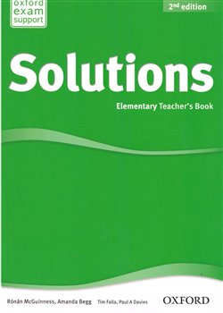 Obálka titulu Maturita Solutions 2nd Edition Elementary Teacher´s Book with Teacher´s
