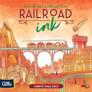 Railroadink - rudá edice - - | Booksquad.ink