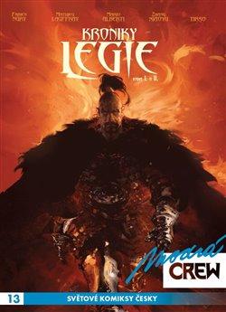 Obálka titulu Modrá CREW 13: Kroniky Legie 1+2