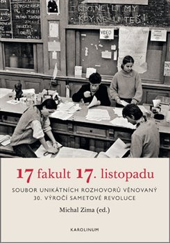 Obálka titulu 17 fakult 17. listopadu