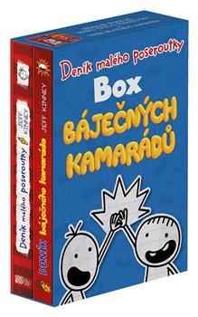 Obálka titulu Deník malého poseroutky - Box báječných kamarádů