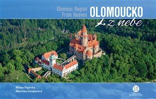 Olomoucko z nebe / Olomouc Region From Heaven - Martina Grznárová, | Booksquad.ink