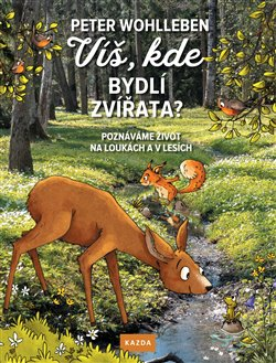 Obálka titulu Víš, kde bydlí zvířata?