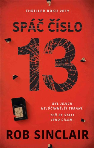 Spáč číslo 13 - Rob Sinclair | Booksquad.ink