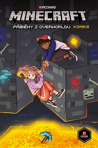 Minecraft komiks: Příběhy z Overworldu - Hope Larson, | Booksquad.ink
