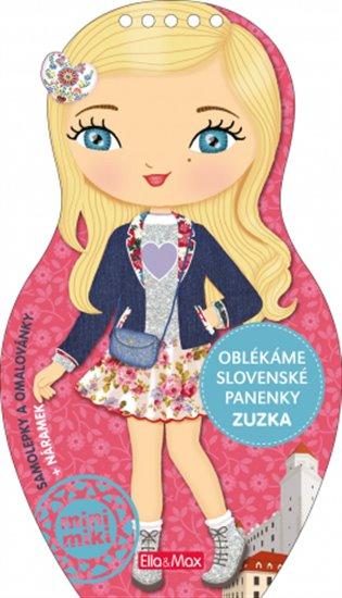 Oblékáme slovenské panenky - Zuzka - -   Booksquad.ink