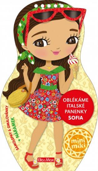 Oblékáme italské panenky - Sofia - - | Booksquad.ink